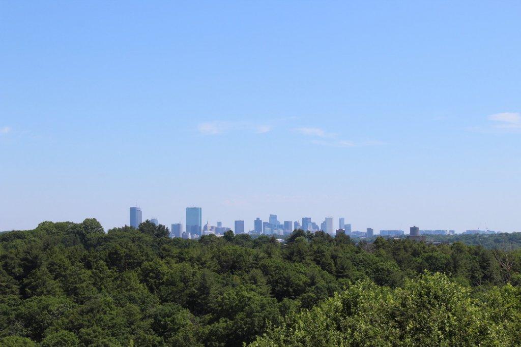 hiking in boston